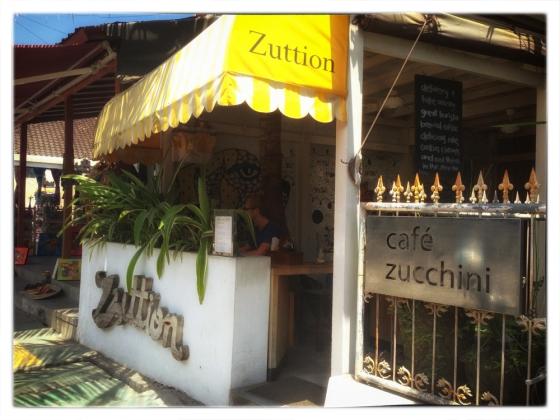 Cafe Zucchini, Seminyak Bali