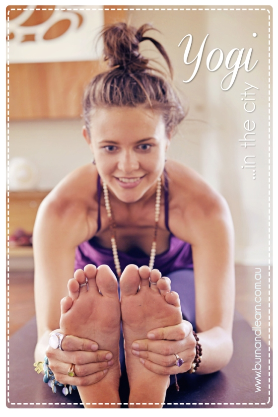 Amanda Noga, Yoga Alchemy's founder, at her studio in Northbridge