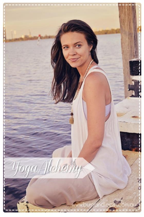 Amanda Noga from www.yogaalchemy.com.au