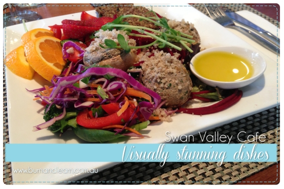 Swan Valley Cafe's food is lovingly prepared and visually exciting