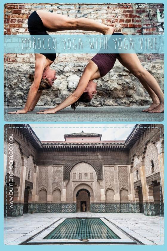 Morocco Yoga with www.theyogavine.com.au